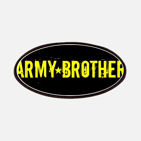 U.S. Army: Brother (Black & Gold) Patch
