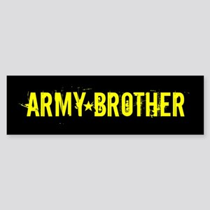 U.S. Army: Brother (Black & Gold) Sticker (Bumper)