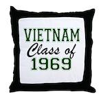 Vietnam Class of 1969 Throw Pillow