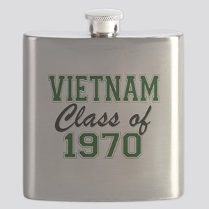 Vietnam Class of 1970 Flask