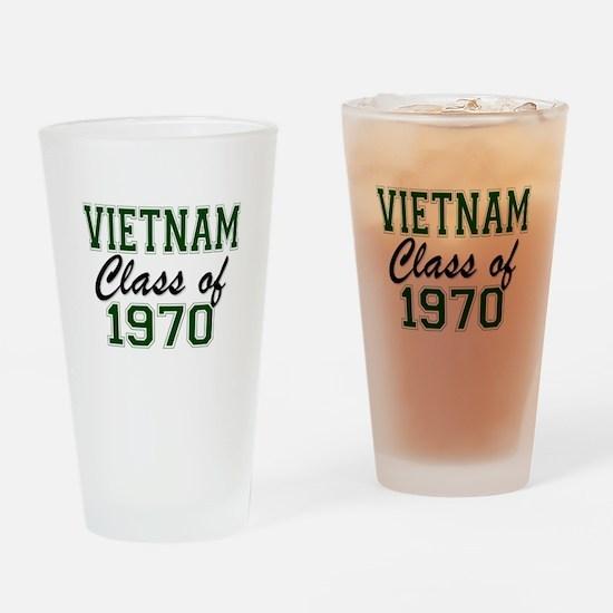 Vietnam Class of 1970 Drinking Glass