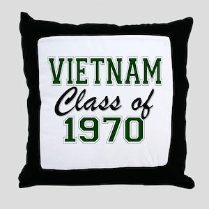 Vietnam Class of 1970 Throw Pillow