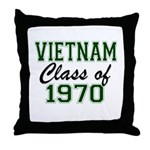 Vietnam Class of 1970 Throw Pillow