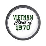 Vietnam Class of 1970 Wall Clock