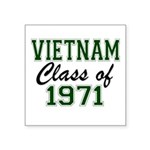 Vietnam Class of 1971 Sticker