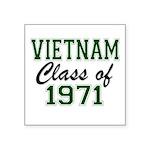 Vietnam Class of 1971 Sticker