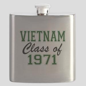 Vietnam Class of 1971 Flask
