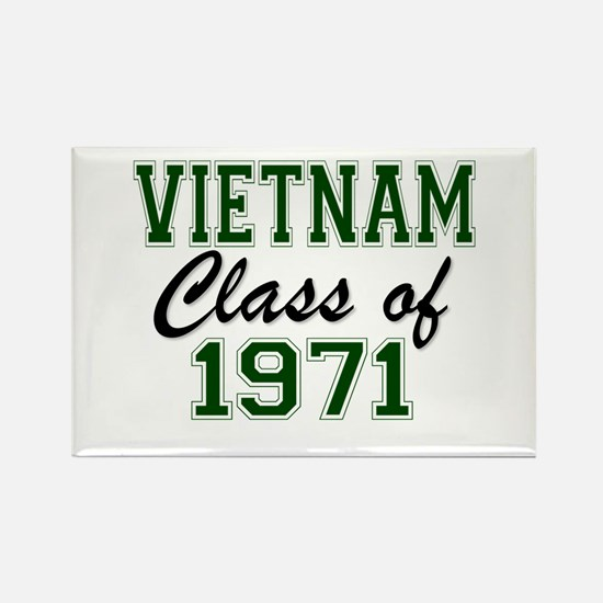 Vietnam Class of 1971 Magnets