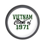 Vietnam Class of 1971 Wall Clock