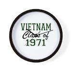 Vietnam Class of 1971 Wall Clock
