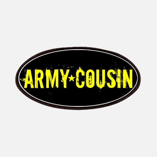 U.S. Army: Cousin (Black & Gold) Patch