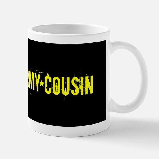U.S. Army: Cousin (Black & Gold) Mug