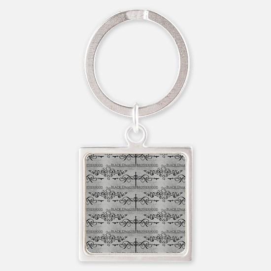 Black Dagger Brotherhood Square Keychain