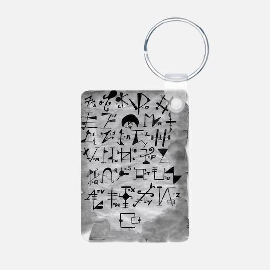 BDB Old Language Scroll  Keychains