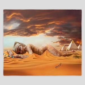 Cleopatra Sleeping King Duvet