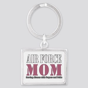 Air Force Mom Pink Keychains