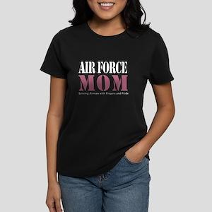 Air Force Mom Pink T-Shirt