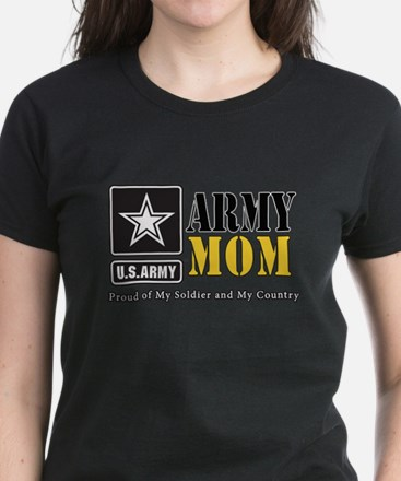 Army Mom Proud T-Shirt