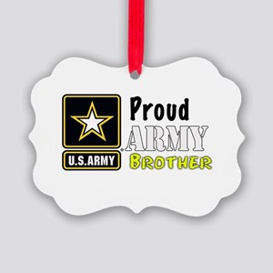 Proud Army Brother Ornament