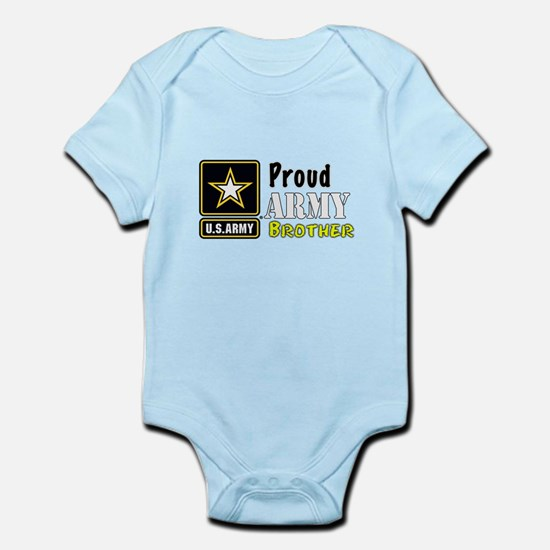 Proud Army Brother Body Suit