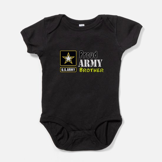 Proud Army Brother Baby Bodysuit