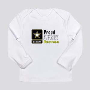 Proud Army Brother Long Sleeve T-Shirt