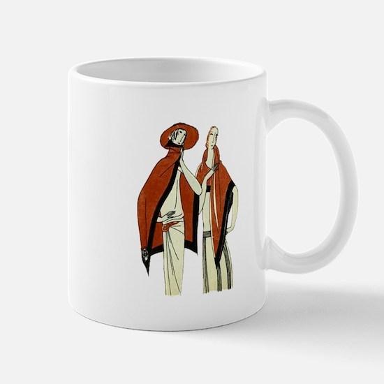 Vintage Fashion Mug Mugs