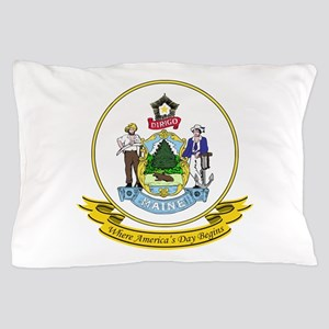 Maine Seal.png Pillow Case