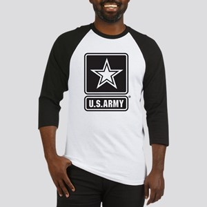 Army Black Star Logo Baseball Jersey