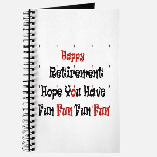 Happy Retirement Journal