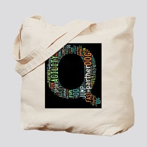 Q in so many words Tote Bag