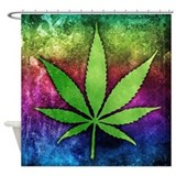 Cannabis Shower Curtains