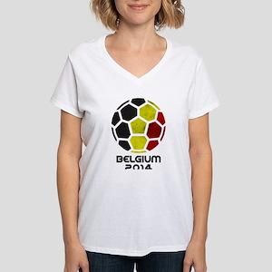 Belgium World Cup Soccer Ball (Football) T-Shirt