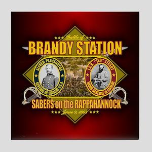 Brandy Station (battle)1 Tile Coaster