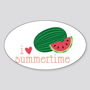 I Love Summertime Sticker