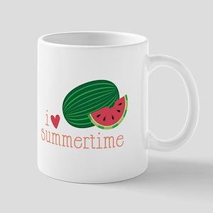 I Love Summertime Mugs