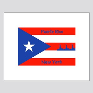 Puerto Rico New York Flag Lady Liberty Posters