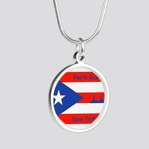 Puerto Rico New York Flag Lady Liberty Necklaces