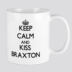 Keep Calm and Kiss Braxton Mugs