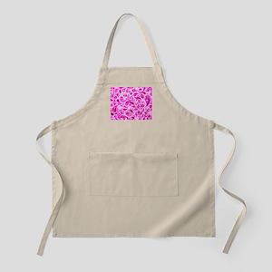 Pink Burst Apron