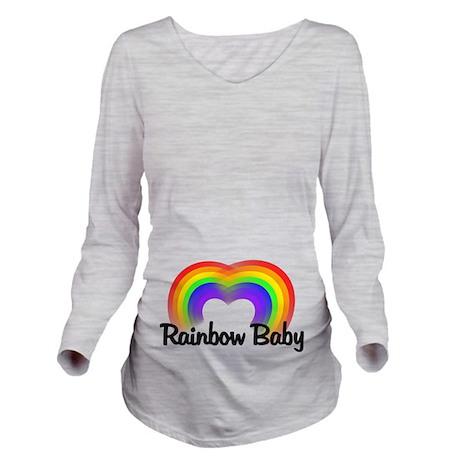 Rainbow Baby Long Sleeve Maternity T-Shirt