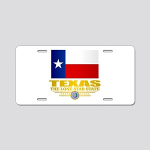 Texas (flag 15) Aluminum License Plate