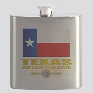 Texas (flag 15) Flask
