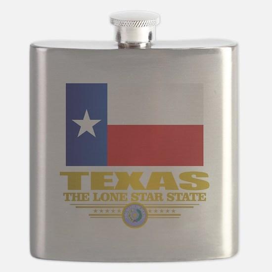 Texas (flag 15) Flask