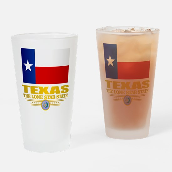 Texas (flag 15) Drinking Glass