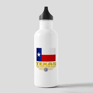 Texas (flag 15) Water Bottle