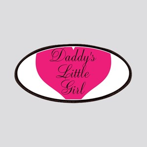 Daddys Little Girl Large Heart Patches