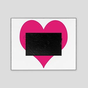 Pink Black Picture Frames Cafepress