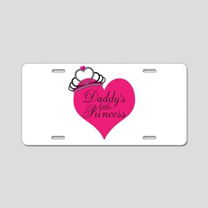 Daddys Little Princess Aluminum License Plate
