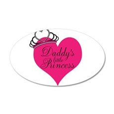 Daddys Little Princess Wall Decal